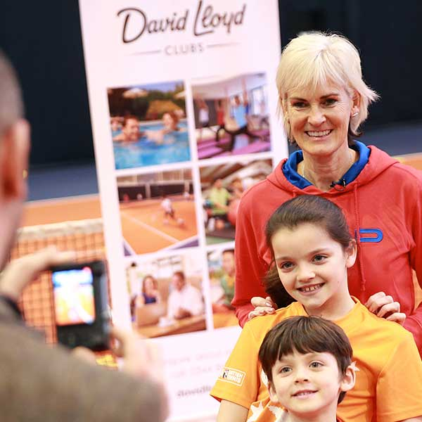 David Lloyd Clubs, Judy Murray partnership activation