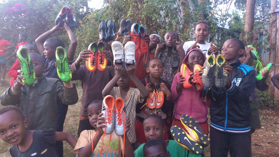 Trainers for Kenyan Kids - Charity